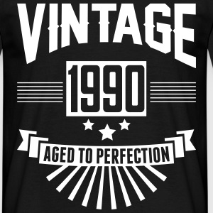 VINTAGE 1990 - Aged To Perfection T-Shirts - Men's T-Shirt