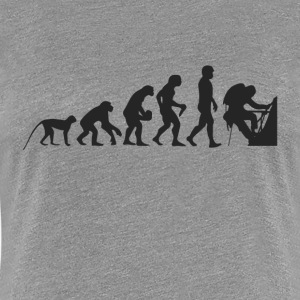 Evolution Mountaineer T-Shirts - Women's Premium T-Shirt