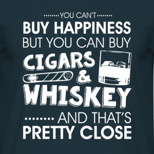 Cigars & whiskey  T-Shirts - Men's T-Shirt