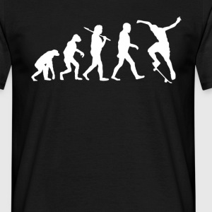 Skaters Evolution Skate T-shirt T-Shirts - Men's T-Shirt