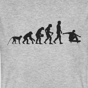 Evolution Skate T-shirts - Mannen Bio-T-shirt