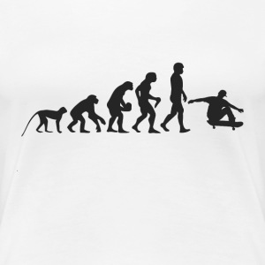 Evolution Skate T-shirts - Vrouwen Premium T-shirt