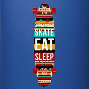 Eat Sleep Skate Repeat Skaters T-shirt Mugs & Drinkware - Full Colour Mug