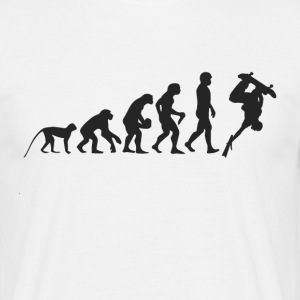 Evolution Skate T-shirts - Herre-T-shirt