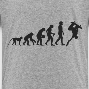 Evolution Skate T-shirts - Premium-T-shirt barn