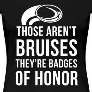Rugby Badges of honor T-shirt T-Shirts - Women's Premium T-Shirt