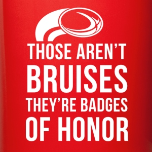 Rugby Badges of honor T-shirt Mugs & Drinkware - Full Colour Mug