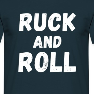 Rugby Ruck and Roll T-shirt T-Shirts - Men's T-Shirt
