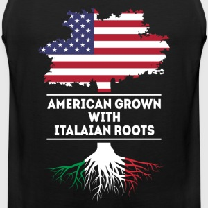 American Italian Roots [ver2] Italian T-shirt Sports wear - Men's Premium Tank Top