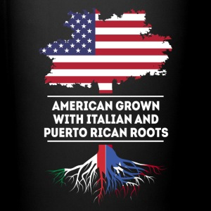 Italian and Puerto Rican Roots T-shirt Mugs & Drinkware - Full Colour Mug