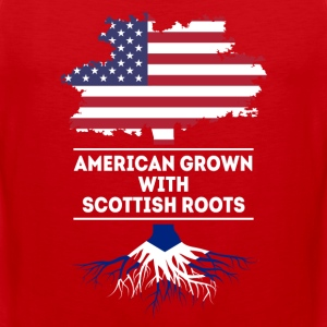 American grown with Scottish roots T Shirt Sports wear - Men's Premium Tank Top