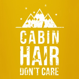 Cabin hair don't care Camping T Shirt Mugs & Drinkware - Full Colour Mug
