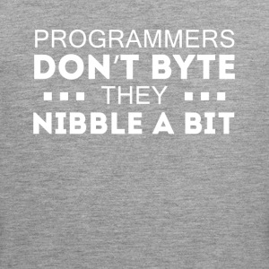 Programmers don't bite Coding T-shirt Sports wear - Men's Premium Tank Top