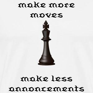 Chess piece  - Men's Premium T-Shirt