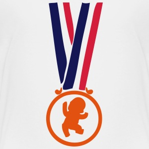 Champion Medaille Baby 2 T-Shirts - Kinder Premium T-Shirt