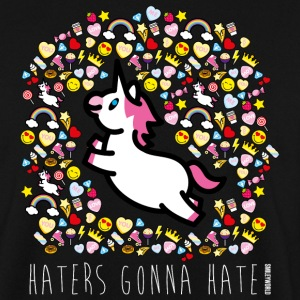 SmileyWorld Haters Gonna Hate - Men's Sweatshirt