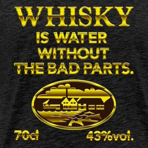 Whisky is water - das Original T-Shirts - Männer Premium T-Shirt
