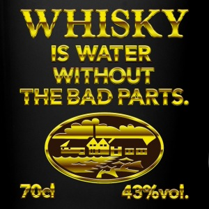 Whisky is water - the original Mokken & toebehoor - Mok uni