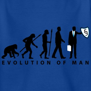evolution_rechtsanwalt_09_201601_3c T-Shirts - Kinder T-Shirt