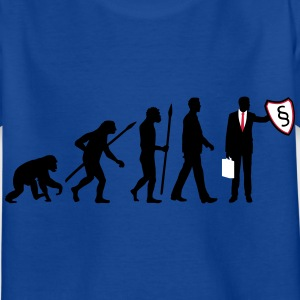 evolution_rechtsanwalt_09_201602_3c T-Shirts - Kinder T-Shirt