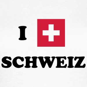 I heart Schweiz - Women's T-Shirt