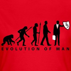 evolution_rechtsanwalt_09_201601_3c T-Shirts - Frauen T-Shirt