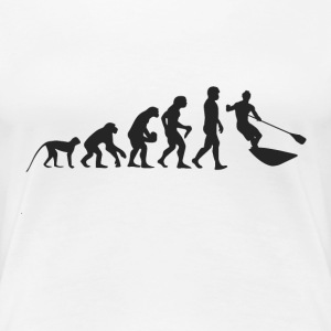 Evolution surf T-shirts - Dame premium T-shirt