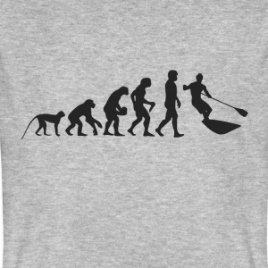 Evolution Surfen T-Shirts - Männer Bio-T-Shirt
