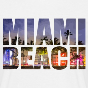 Miami Beach - T-shirt Homme