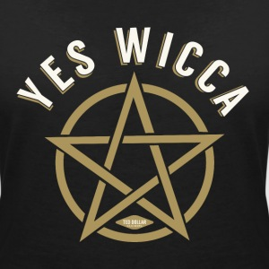 Yes Wicca Tee shirts - T-shirt col V Femme