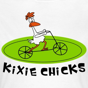 Kixie Chicks 2 T-Shirts - Frauen T-Shirt