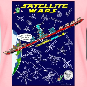 Satellite Wars - Women's Premium T-Shirt