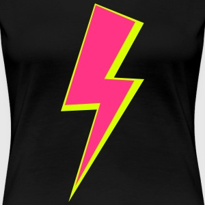 FLASH / BLITZ T-Shirts - Frauen Premium T-Shirt