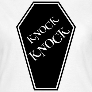 KNOCK KNOCK WHITE T-Shirts - Frauen T-Shirt