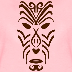 maori tribal tattoo maske 2 ethnische T-Shirts - Frauen Premium T-Shirt