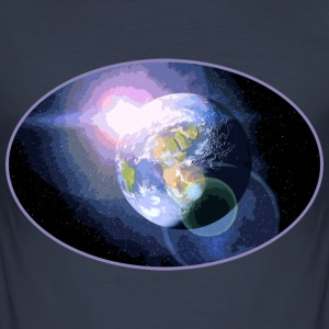Planet Earth  - Männer Slim Fit T-Shirt