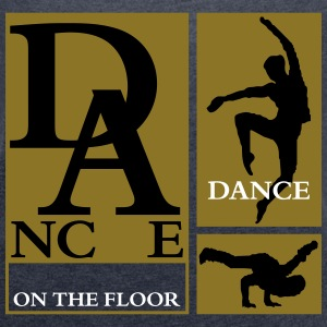 Dance on the Floor T-Shirts - Frauen T-Shirt mit gerollten Ärmeln