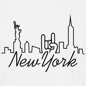 new york manhattan T-Shirts - Männer T-Shirt