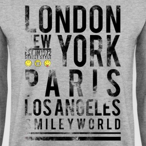 Smileyworld 'Cities' - Men's Sweatshirt