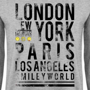 Smileyworld 'Cities' - Bluza męska