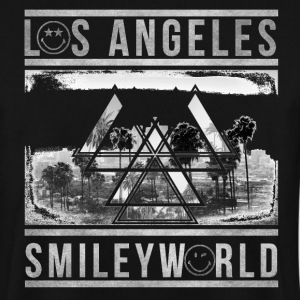 Smileyworld 'Los Angeles Skyline' - Men's Sweatshirt