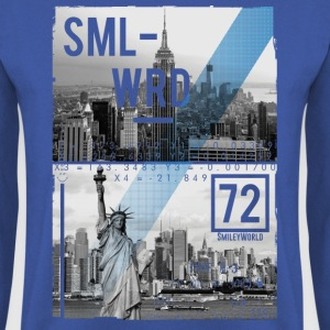 Smileyworld 'New York Statue of Liberty' - Men's Sweatshirt