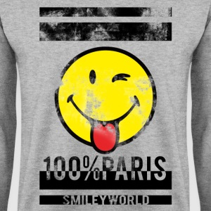 Smileyworld '100% Paris' - Men's Sweatshirt