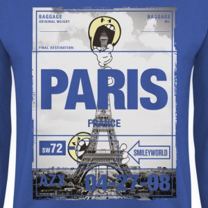 Smiley World 'France Paris Tour Eiffel' - Sweat-shirt Homme