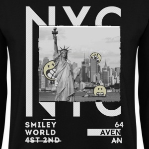 Smileyworld 'NYC 64 Aven Skyline' - Sweat-shirt Homme
