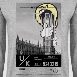 SmileyWorld 'London Big Ben' - Men's Sweatshirt
