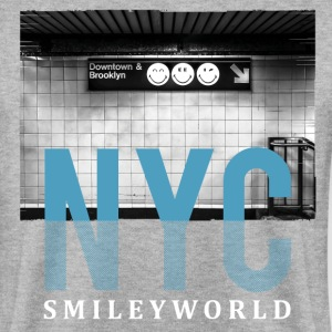 SmileyWorld 'New York Underground' - Men's Sweatshirt