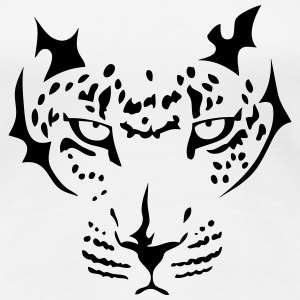 tribal leopard 12 T-Shirts - Frauen Premium T-Shirt