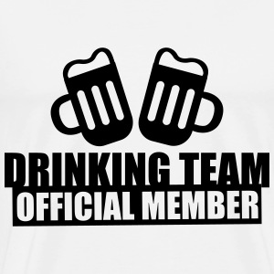 Drinking team crew official member - Best Friends - Men's Premium T-Shirt