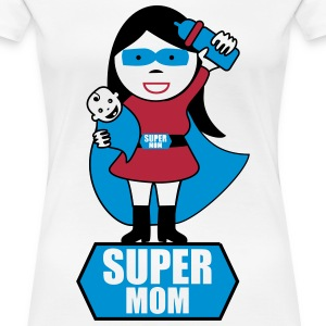 Super Mom Mother Gift  - Women's Premium T-Shirt
